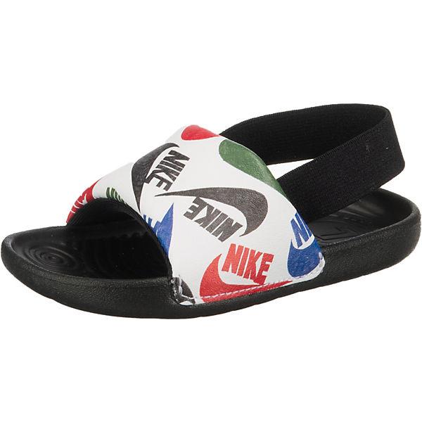Gutes Angebot Nike Sportswear Baby Badesandalen KAWA SLIDE SE JDI schwarz/weiß
