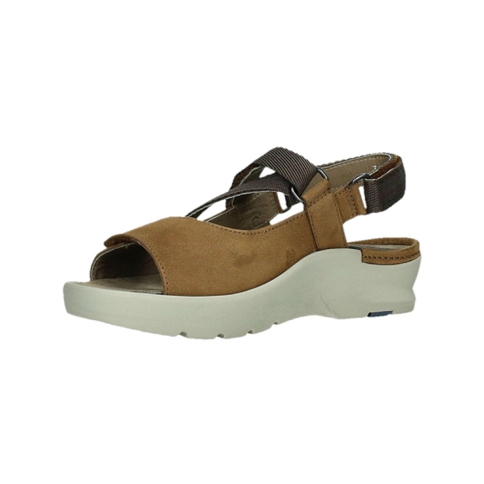 Wolky Sandalen Klassische Sandalen braun Damen Gr. 38