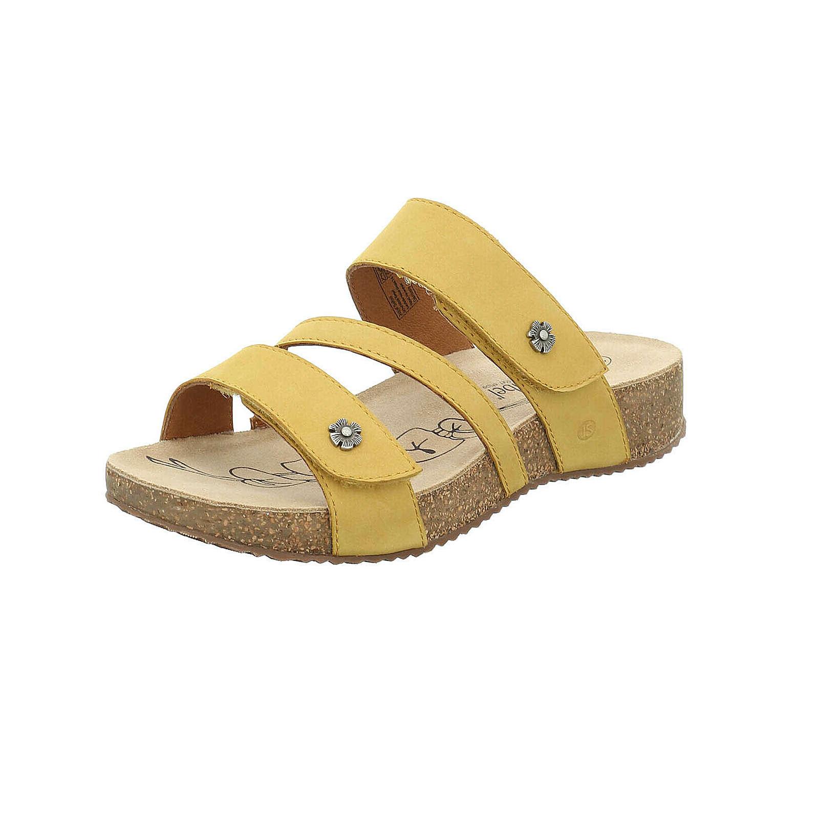 Josef Seibel Sandale Tonga 54 Klassische Sandalen gelb Damen Gr. 36