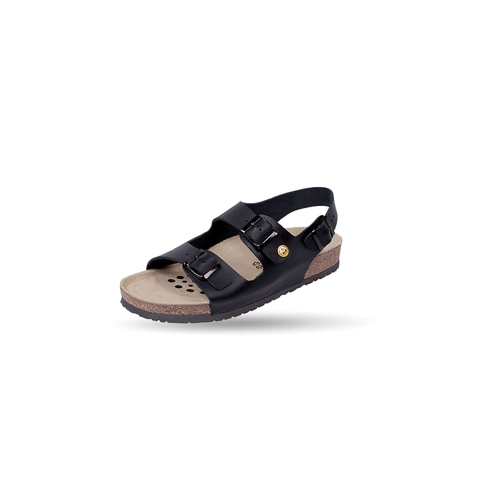 Weeger ESD-Sandal antist. Art. 45115-20 Arbeitssandalen schwarz Gr. 41