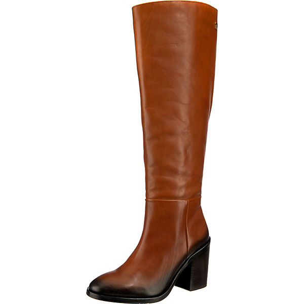 Shaded Leather Long Boot Klassische Stiefel