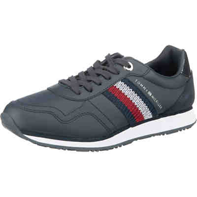 Tommy Leather Low Runner Sneakers Low