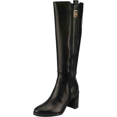 Th Interlock High Heel Long Boot Klassische Stiefel