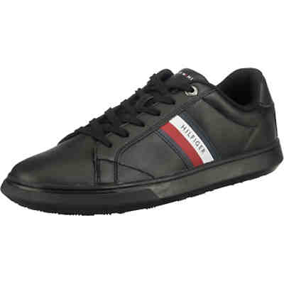 Essential Leather Cupsole Sneakers Low