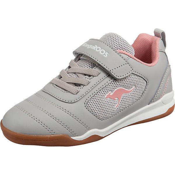 Gutes Angebot KangaROOS Sneakers low NICOURT EV für Mädchen rosa/grau