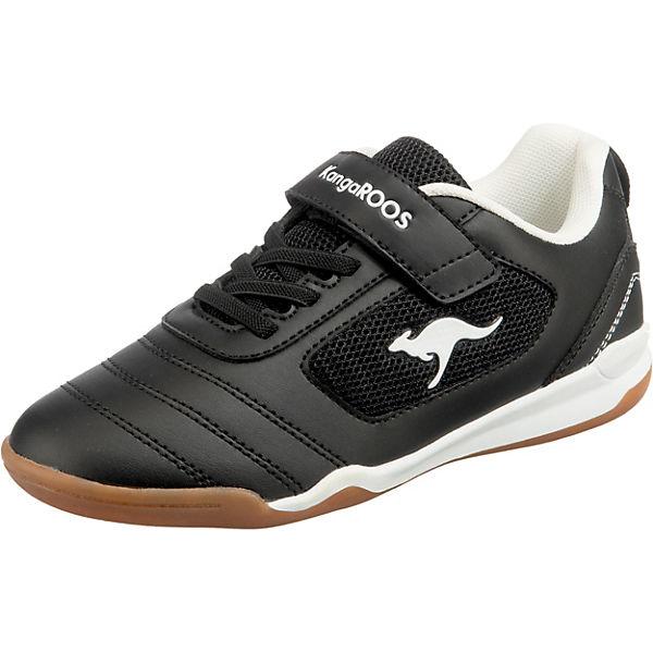 Gutes Angebot KangaROOS Kinder Sneakers low NICOURT EV schwarz/weiß