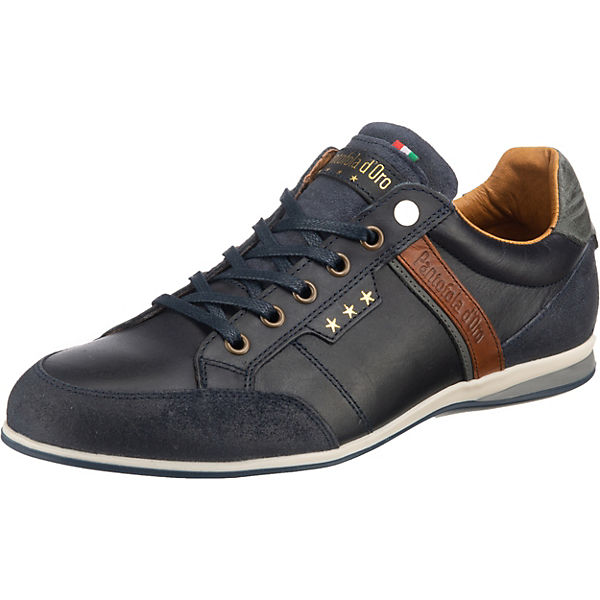 Beste Wahl Pantofola d'Oro Roma Uomo Low Sneakers Low dunkelblau