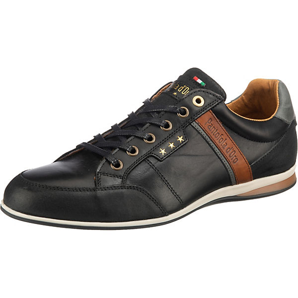 Beste Wahl Pantofola d'Oro Roma Uomo Low Sneakers Low schwarz
