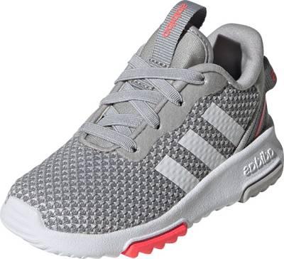 adidas Sport Inspired, Baby Sneakers Low RACER TR 2.0 für Mädchen, grauweiß