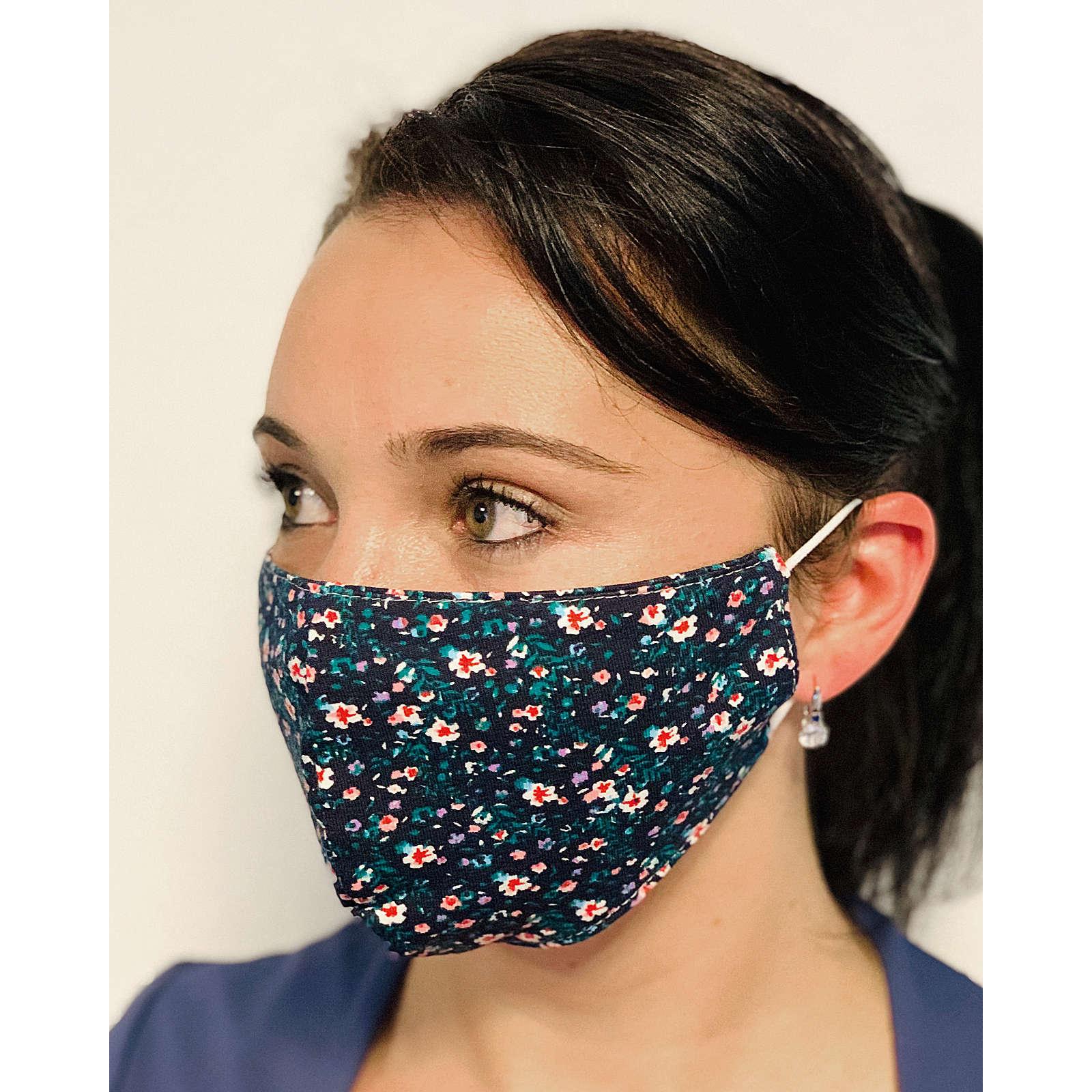 Albani Mund-Nasen-Maske, mehrfarbig mehrfarbig