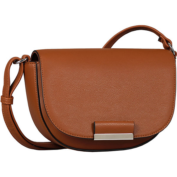 Madrid Flap Bag S No Zip, Cognac Umhängetasche