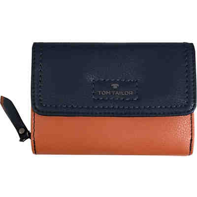 Jess Wallet, Medium Flap Wallet Mixed Blue Portmonnaie