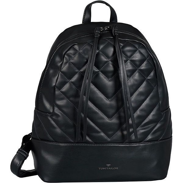 Jara Backpack, Backpack M Black Freizeitrucksäcke