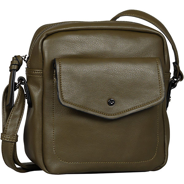 Janita Cross Bag, Cross Bag S Khaki Umhängetasche