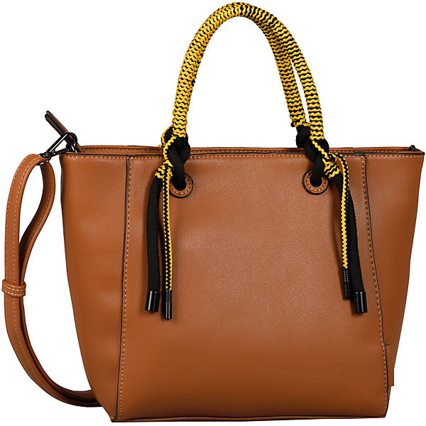 Malena Shopper, Zip Shopper M Cognac Handtasche