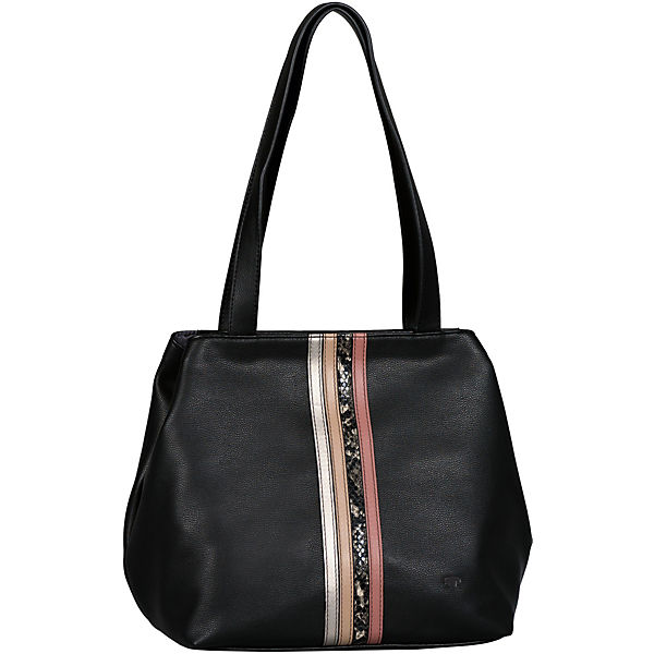 Miri Fall Shopper, Zip Shopper M Mixed Black Shopper
