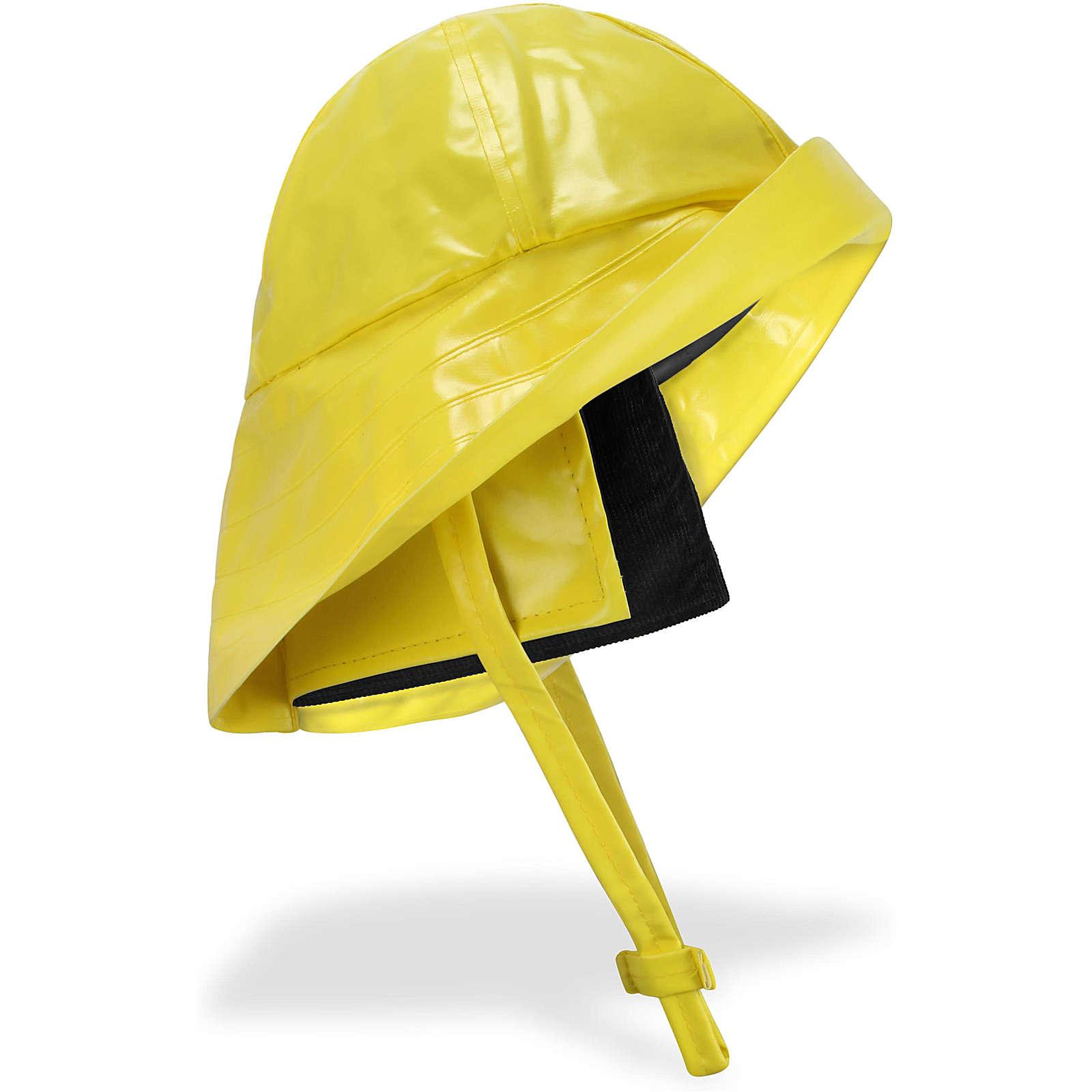 normani® Südwester Regenhut Cork Regenhüte gelb Gr. 56-58