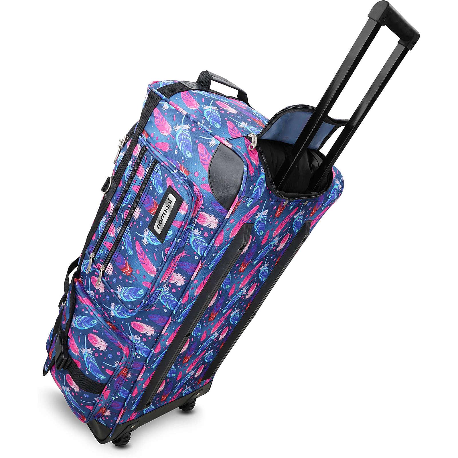 normani® Reisetasche mit 2 Rädern Jumbus 100 Reisetaschen mehrfarbig