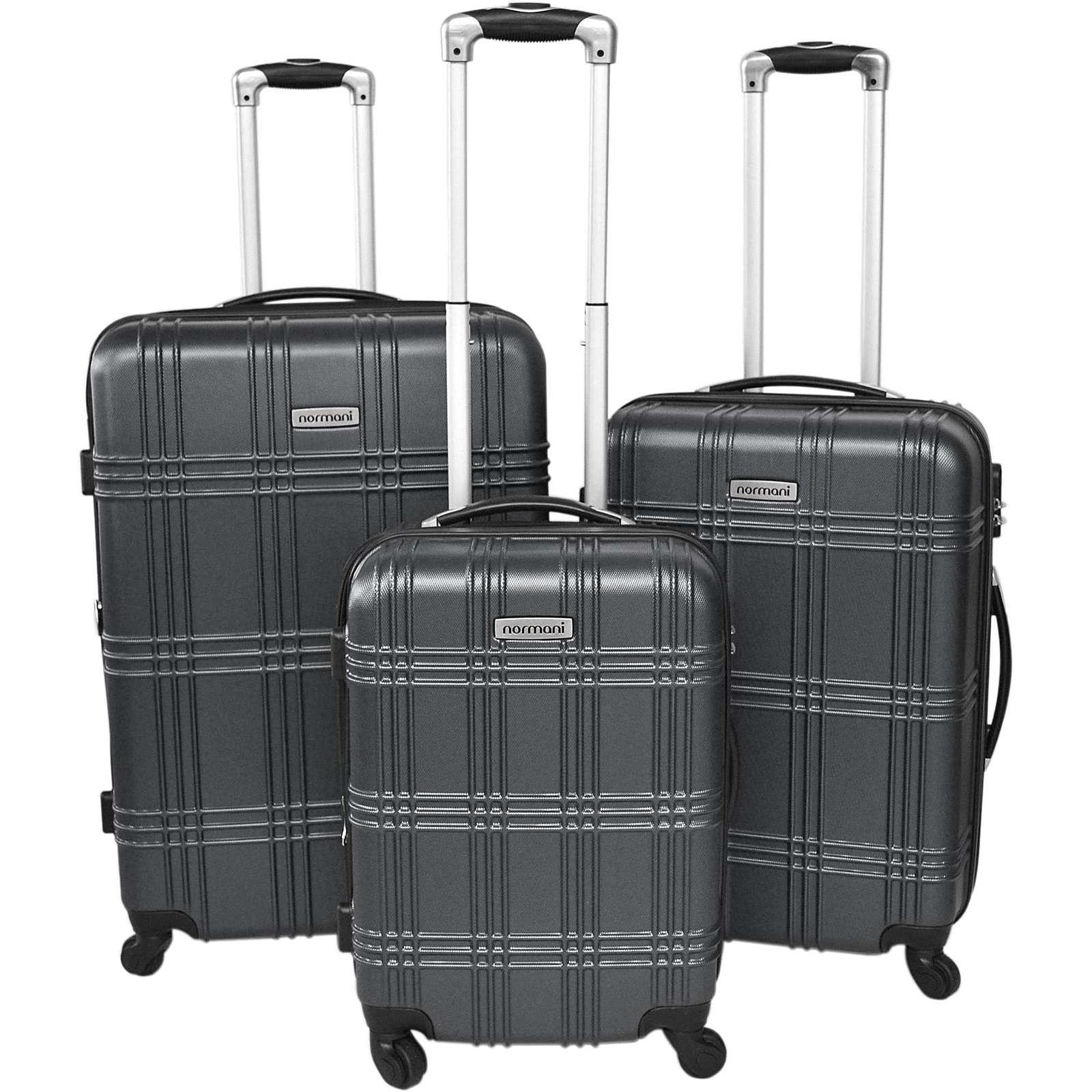 normani® Kofferset 3-tlg. New Style Koffer anthrazit