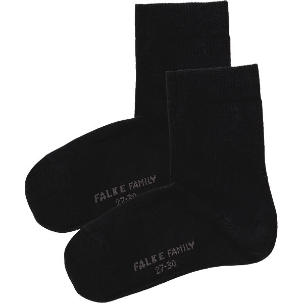 FALKE Kinder Socken Family schwarz