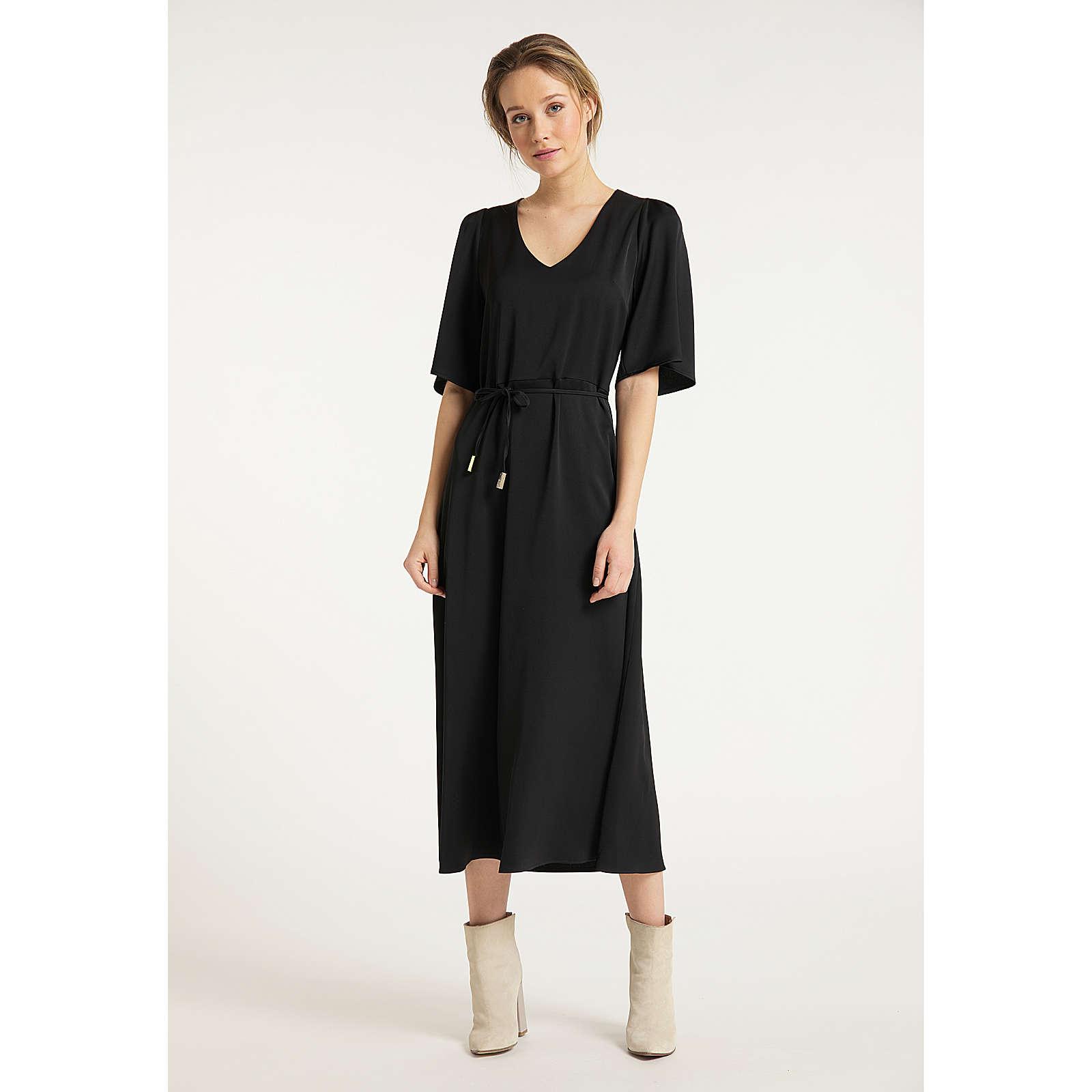 DreiMaster Vintage Kleid Stillkleider schwarz Damen Gr. 34