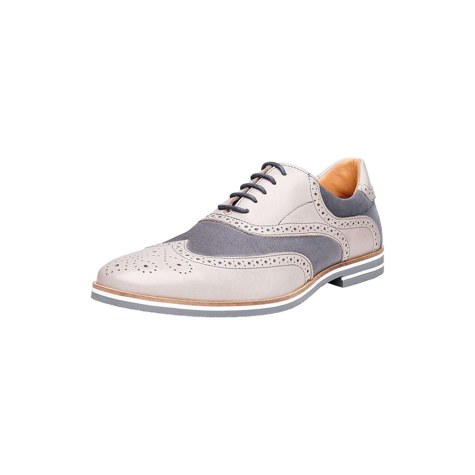 Shoepassion Halbschuhe No. 5302 Klassische Halbschuhe grau Herren Gr. 42