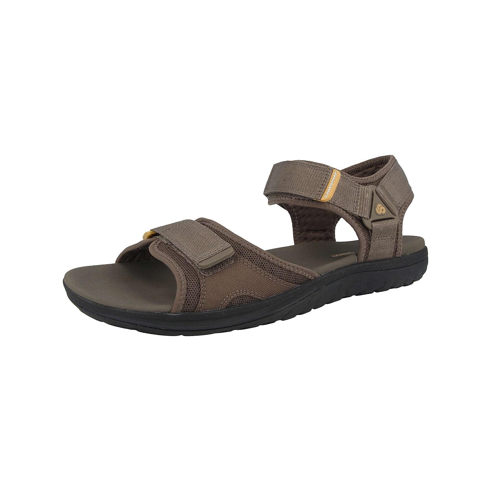 Clarks Schuhe Step Beat Sun Klassische Sandalen braun Damen Gr. 44