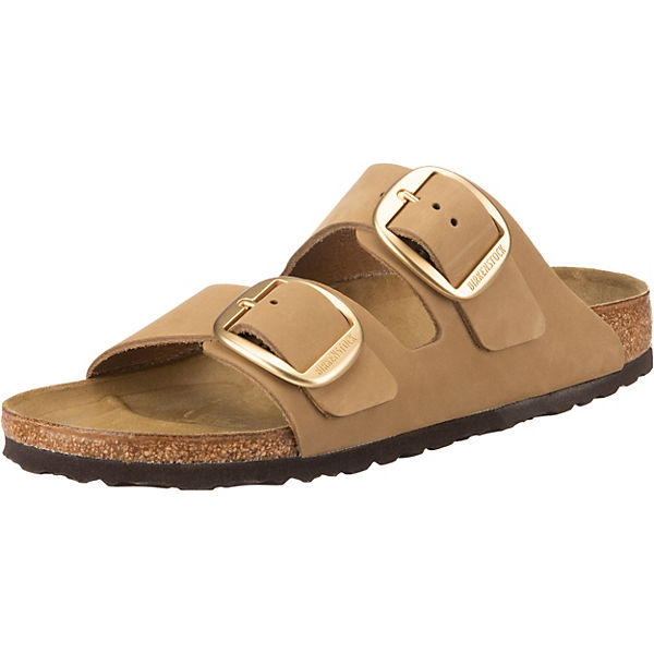 Arizona Nubuck Big Buckle Komfort-Pantoletten