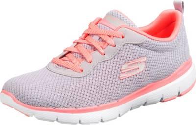SKECHERS, Flex Appeal 3.0 First Insight Sneakers Low, grau lYRX0