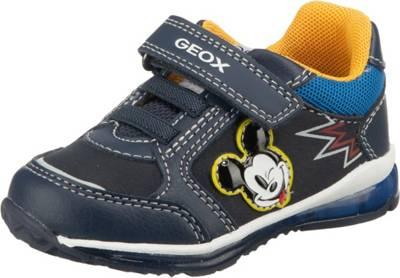 GEOX, Baby Sneakers Blinkies low TODO für Jungen, blau