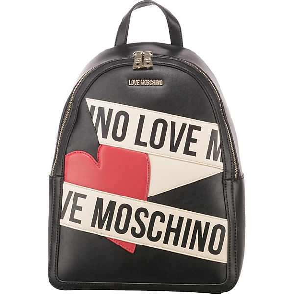 Love Moschino Printed Scroll Freizeitrucksäcke
