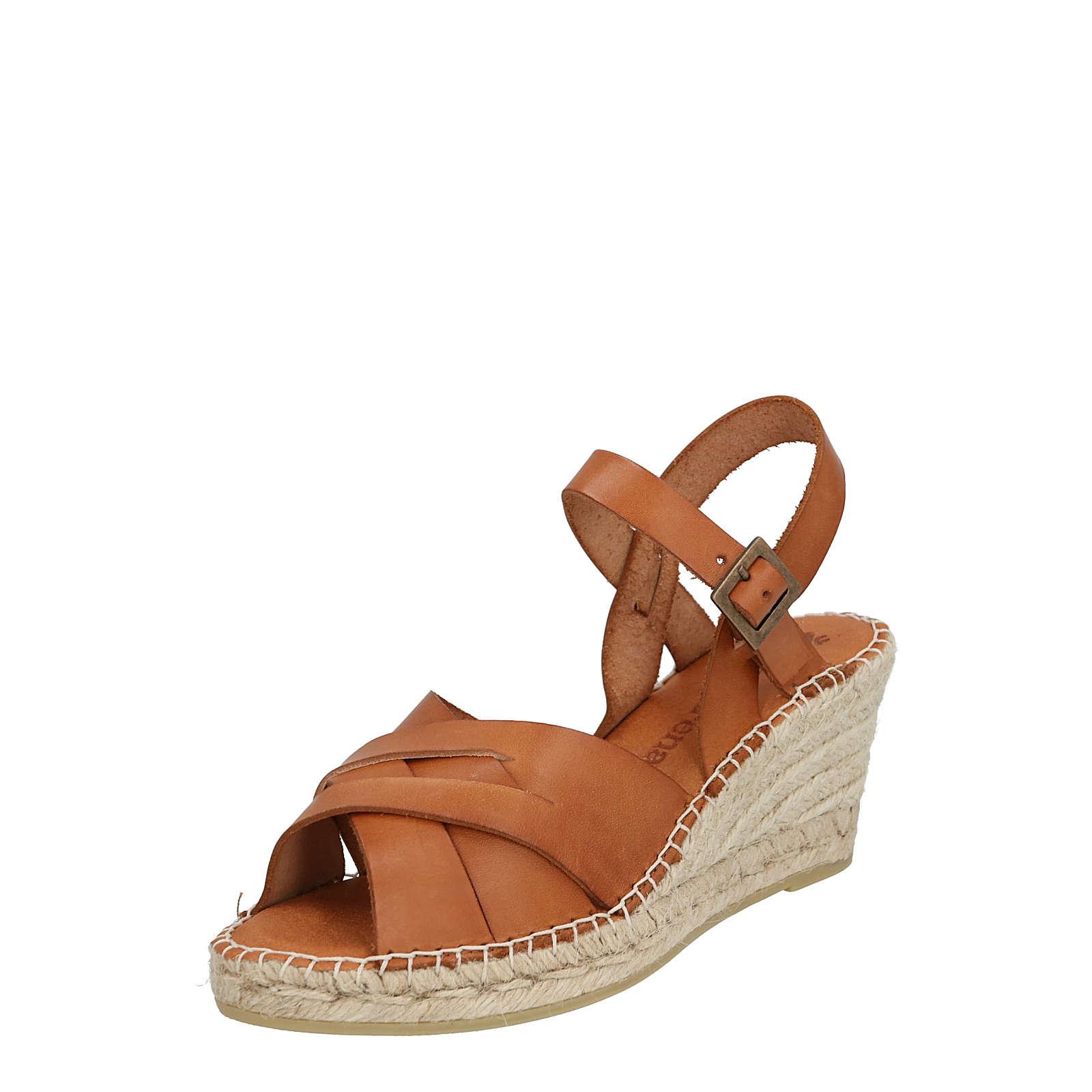 Macarena sandale ana49 Klassische Sandalen braun Damen Gr. 40