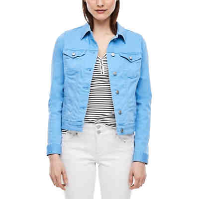 Jeansjacke in Unicolor Outdoorjacken