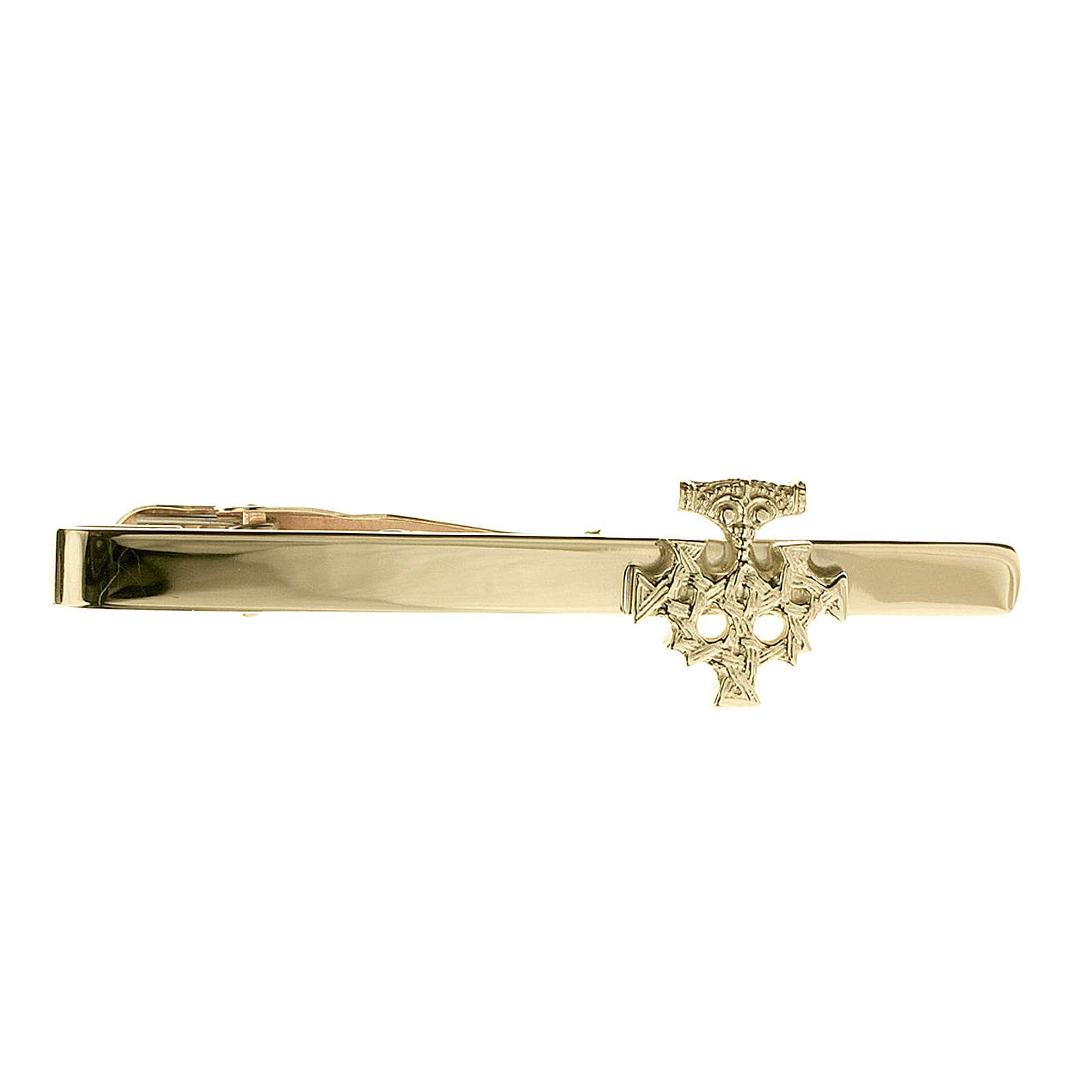 OSTSEE-SCHMUCK Krawattenhalter - Hiddensee - Gold 333/000 - , Krawattennadeln gelbgold Herren