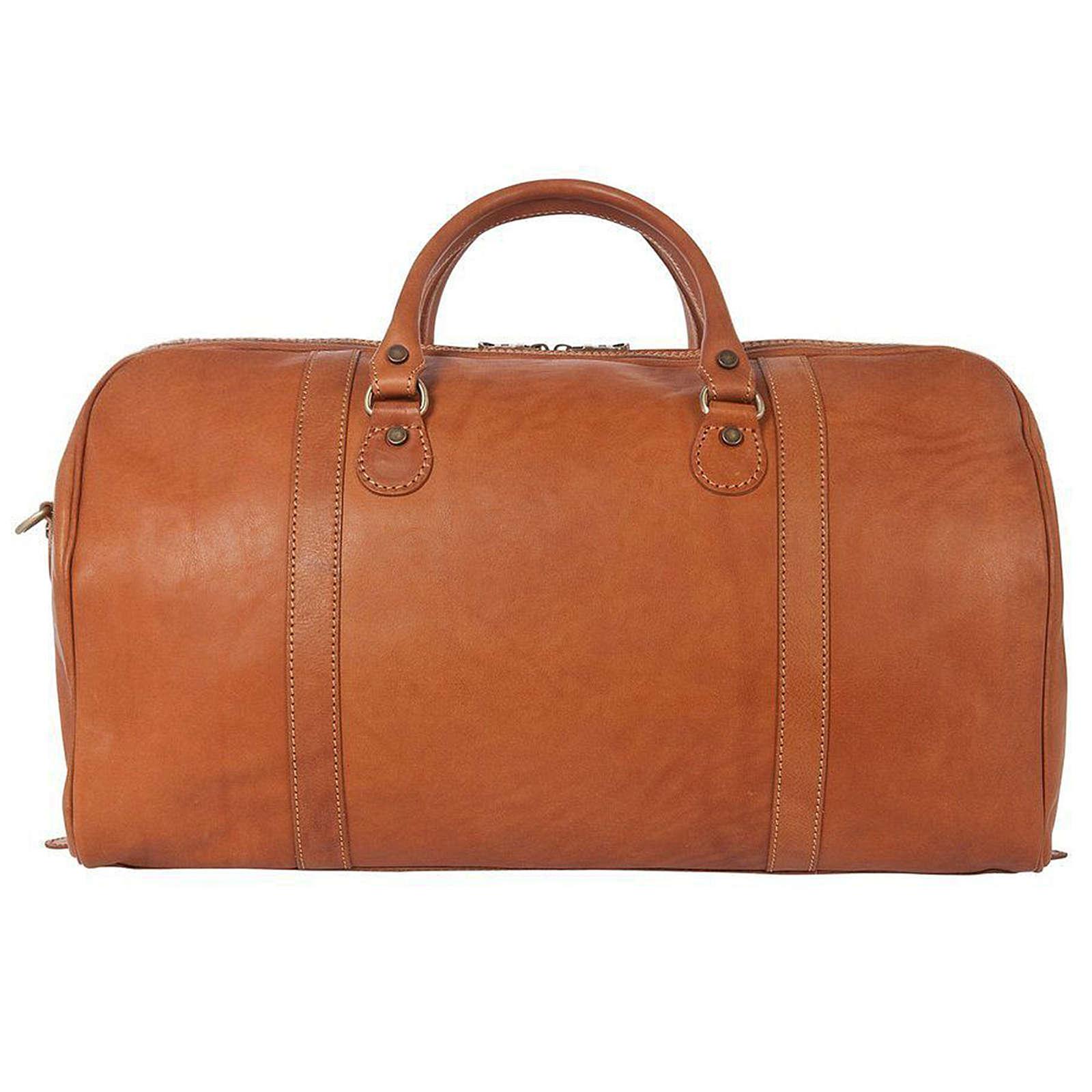 TOSSO´S Reisetasche Classic Duffle Reisetaschen hellbraun