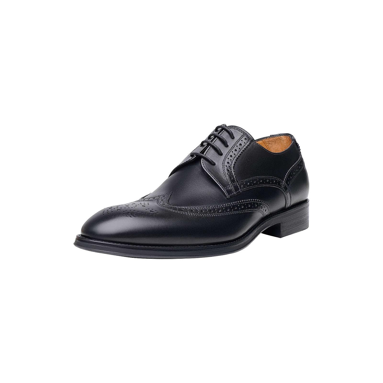 Shoepassion Halbschuhe No. 506 SC Business-Schnürschuhe schwarz Herren Gr. 40,5