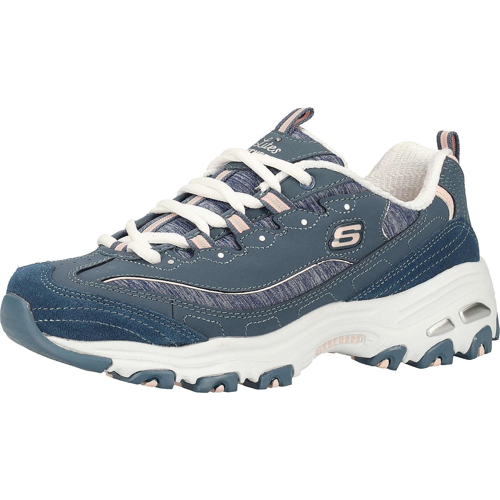 Skechers Sneaker Sneakers Low Blau Damen Gr. 37