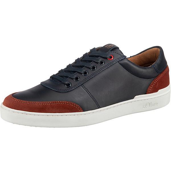 Beste Wahl s.Oliver Sneakers Low dunkelblau