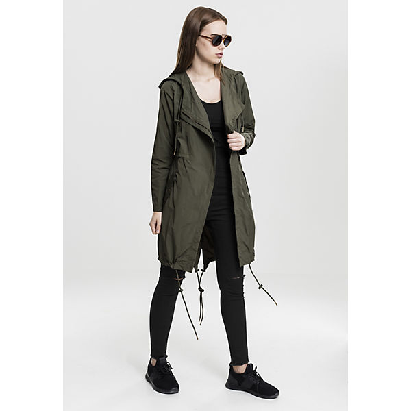 Ladies Asymetric Parka Parkas