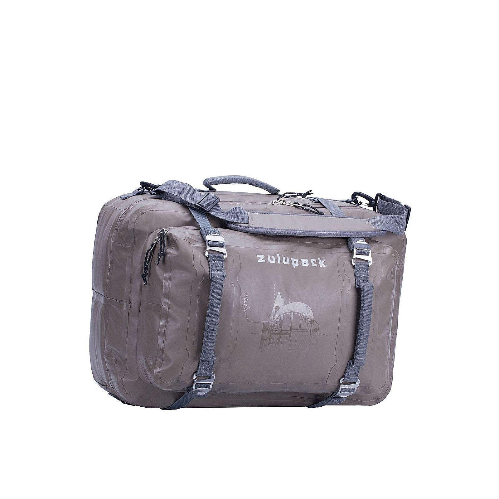 Zulupack Antipode Rucksack-Tasche  45 L waterressistant 55 cm Trolleys grau