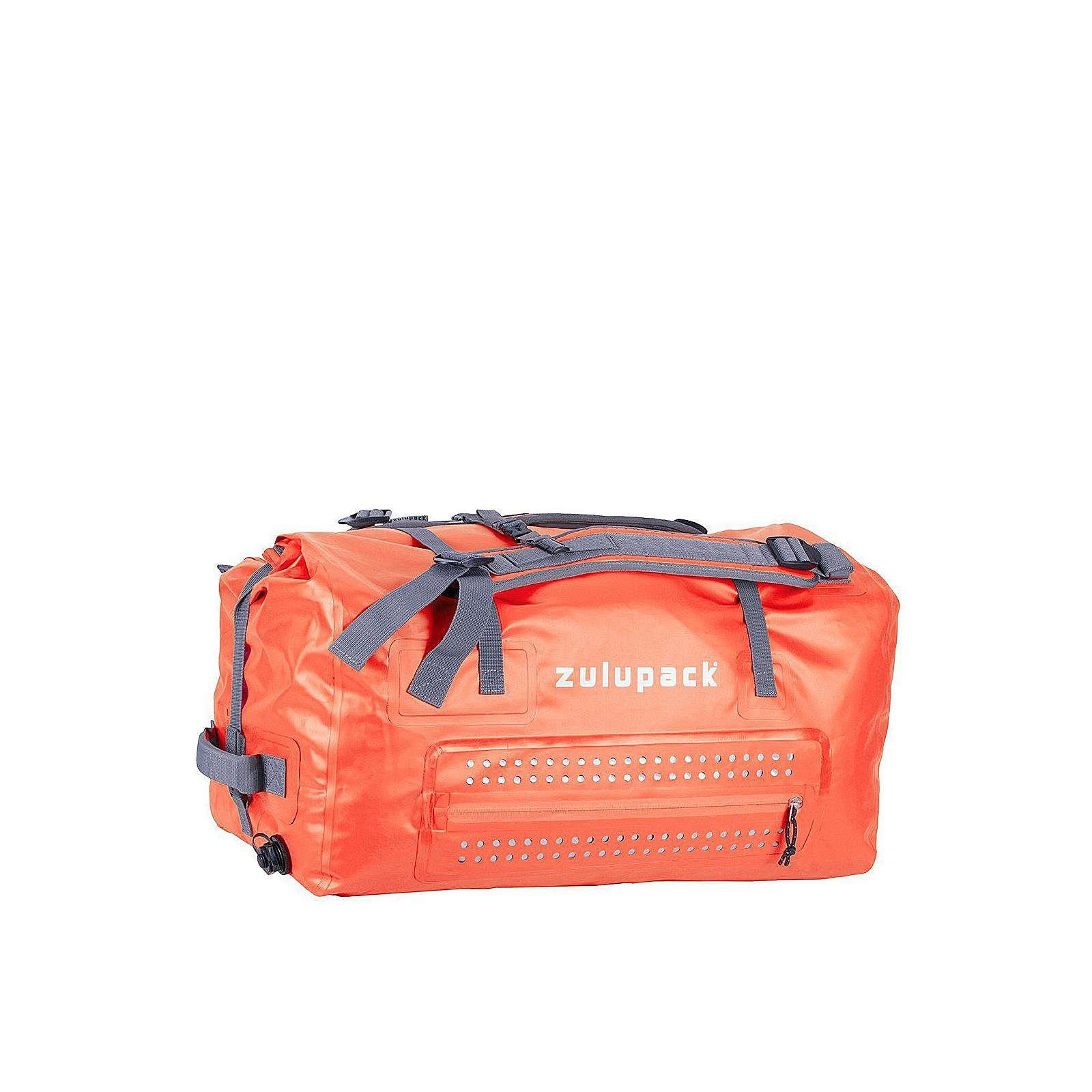 Zulupack Borneo Reisetasche 85 L waterproof 70 cm Reisetaschen orange