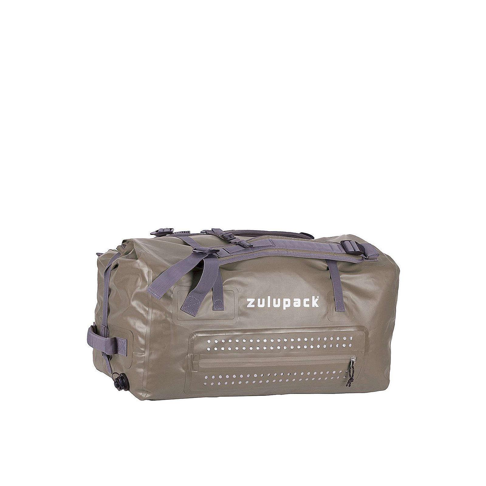 Zulupack Borneo Reisetasche 85 L waterproof 70 cm Reisetaschen grau