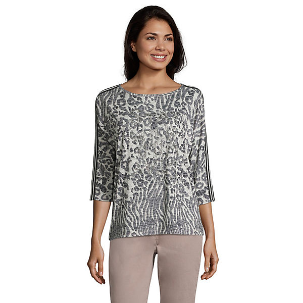 Betty Barclay Casual-Shirt mit Animalprint 3/4-Arm-Shirts