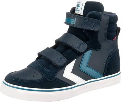 hummel, Kinder Sneakers High STADIL PRO, dunkelblau | mirapodo