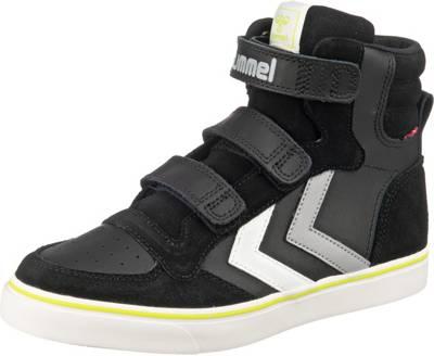 hummel, Kinder Sneakers High STADIL PRO, schwarz | mirapodo