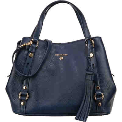 Carrie Medium Pebble Embosed Leather 18k Handtasche