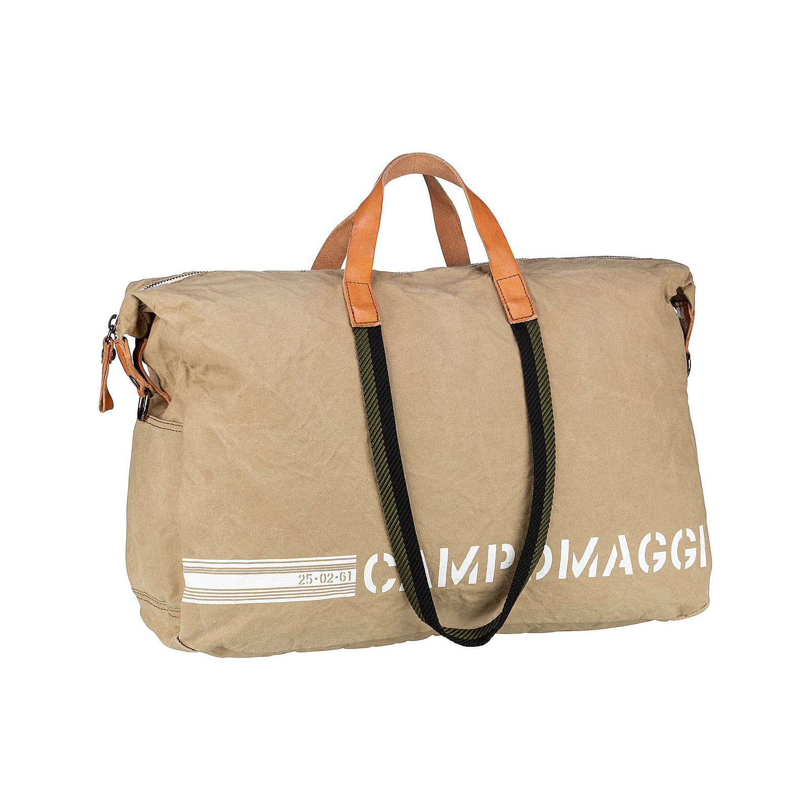 Campomaggi Reisetasche Torrechiara C21680 Reisetaschen beige Herren