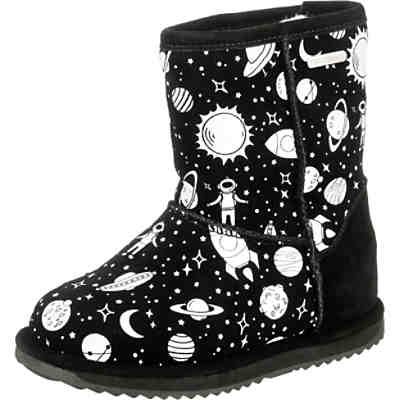 Winterstiefel OUTER SPACE für Jungen, wasserdicht + glow in the dark