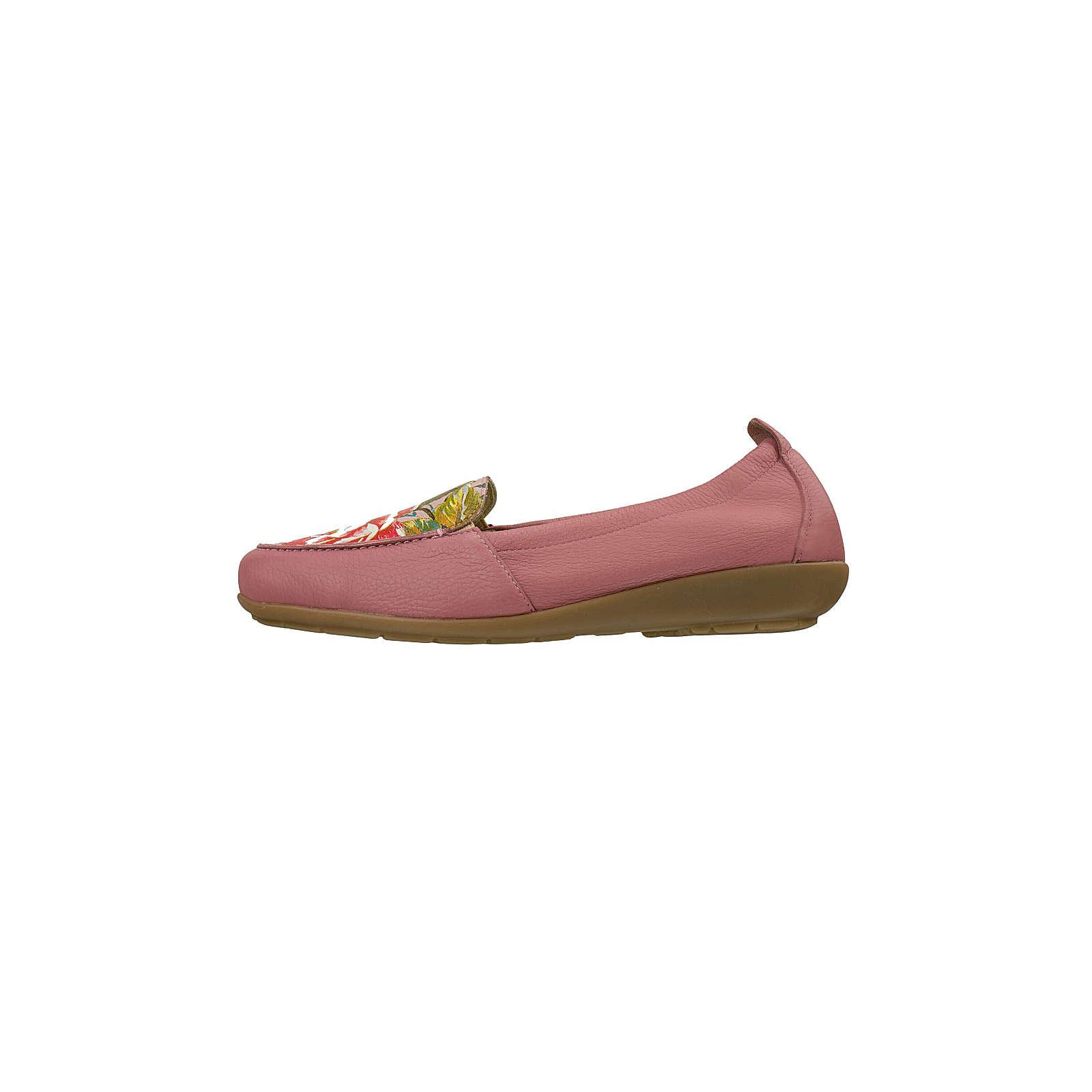 Natural Feet® Natural Feet Mokassin Klassische Halbschuhe rosa Damen Gr. 41