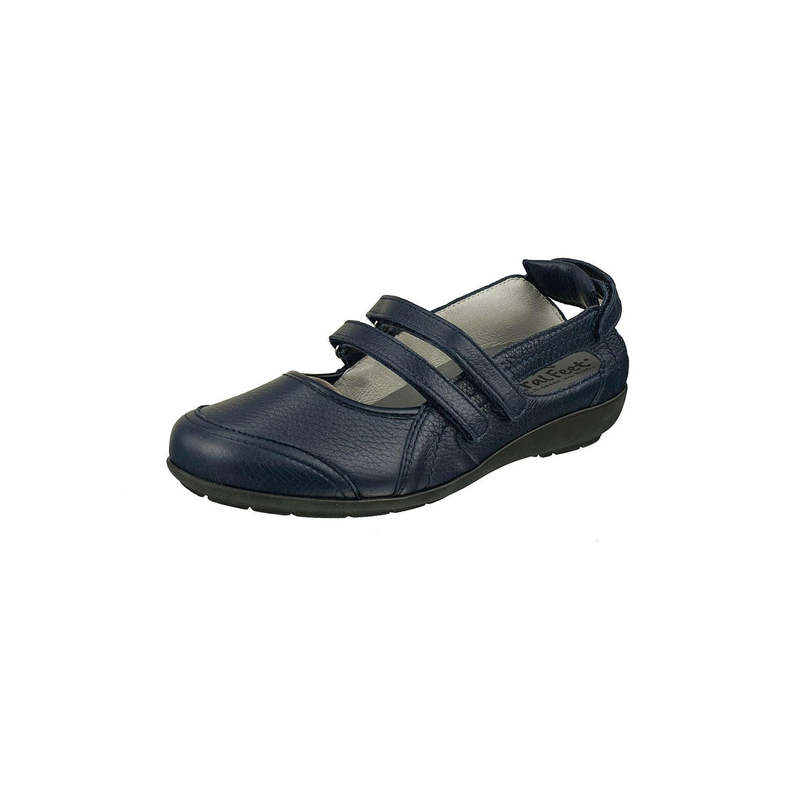 Natural Feet® Natural Feet Schlupfschuhe Ballerinas blau Damen Gr. 40